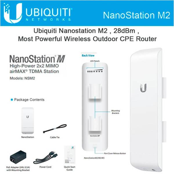 NanoStation  M2/M5 (Nano MIMO, AirMax)